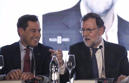 """Rajoy reivindica al PP como un partido """"de centro"""" que huye de """"radicalismos"""" y de la """"exageración"""""""
