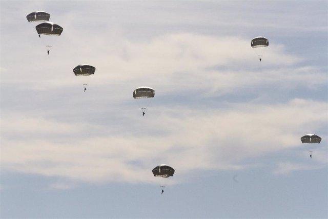 Paracaidistas de la 82ª División Aerotransportada de Estados Unidos