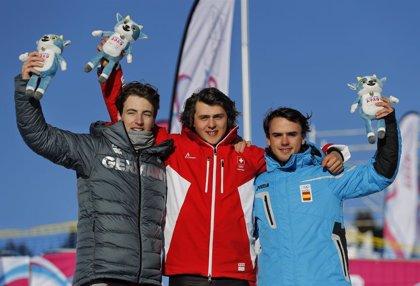 Álvaro Romero se cuelga el bronce en snowboard cross en los Juegos Olímpicos de Invierno de la Juventud