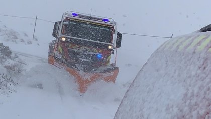 El 1-1-2 gestiona hasta las 20.30 horas un total de 514 incidentes relacionados con la nieve, viento y lluvia