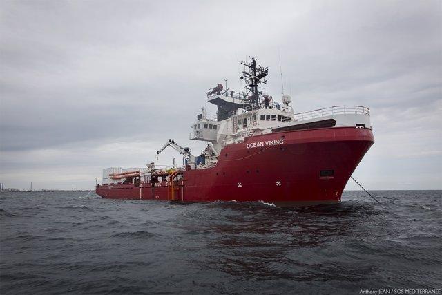 MSF y SOS Mediterranée gestionan el 'Ocean Viking'
