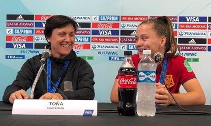 Toña Is deja de ser la seleccionadora Sub-17