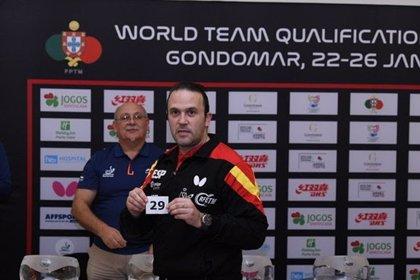 España se enfrentará a Suecia y Gran Bretaña en los preolímpicos masculino y femenino de tenis de mesa