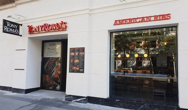 Restaurante de Tony's Romas