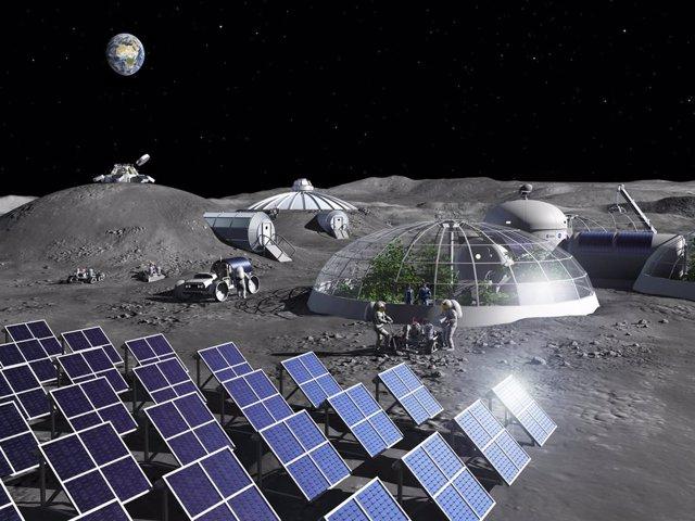 Futura colonia lunar