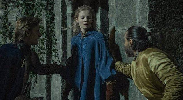 Ciri (Freya Allan) en la serie The Witcher de Netflix