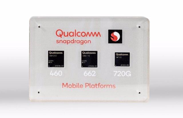 Qualcomm presenta sus nuevos procesadores móviles Snapdragon 720G, 662 y 460 con