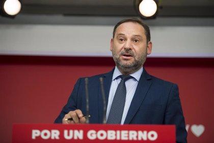 El ministro Ábalos participará en un acto del PSdeG este sábado en Santiago