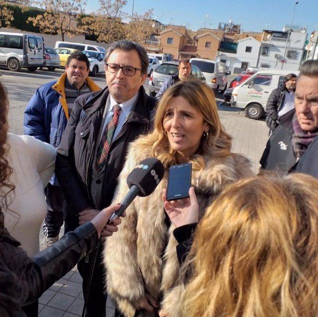 La concejal de Participación Ciudadana del Ayuntamiento de Granada, Eva Martín