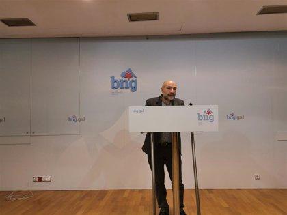 """El BNG tacha a Vox de """"fuerza autoritaria y parafascista"""" por pedir la ilegalización de partidos nacionalistas"""