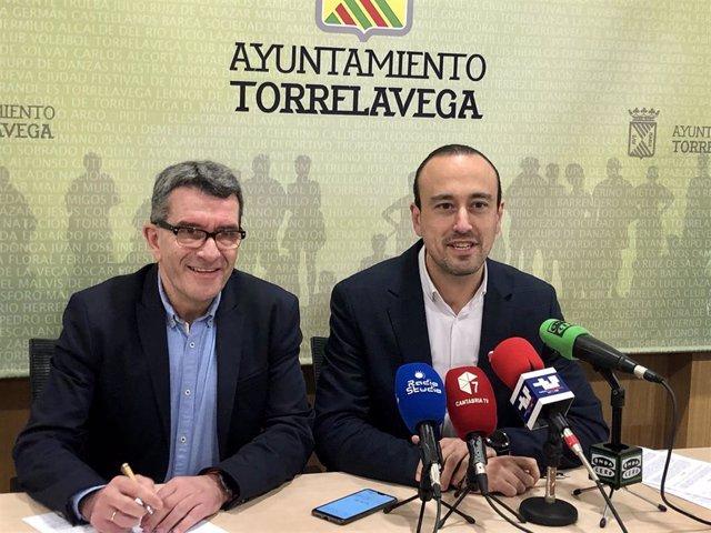 El alcalde de Torrelavega y el concejal