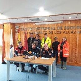 El alcalde de Los Alcázares, Mario Cervera, comparece en rueda de prensa