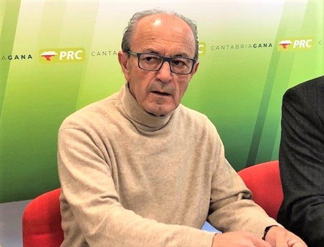 El vicesecretario general de Política Institucional del PRC y exconsejero del Gobierno de Cantabria, Francisco Javier López Marcano