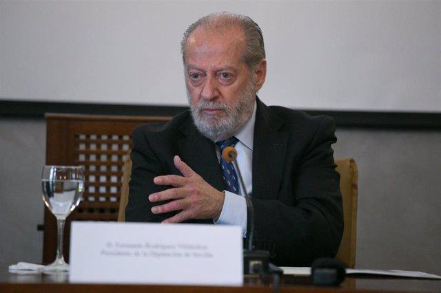 El presidente de la Federación Andaluza de Municipios y Provincias (FAMP), Fernando Rodríguez Villalobos, en una imagen de archivo