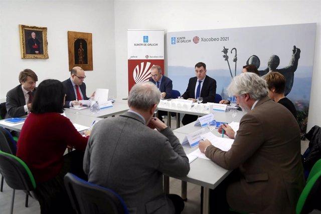 Reunión da Comisión Organizadora do Xacobeo 21