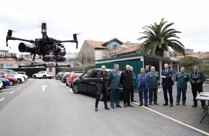 Guardia Civil y Gobierno refuerzan la lucha contra delitos medioambientales con un nuevo dron