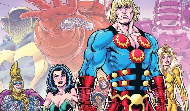 Cómic Los eternos de Marvel