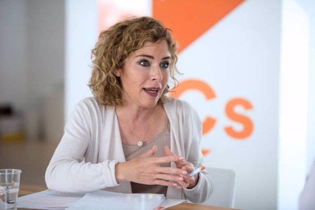 La portavoz de Educación de Ciudadanos, la diputada Marta Martín.