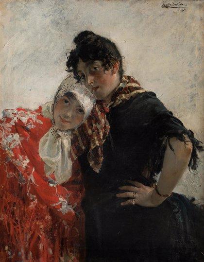 'Las chulas', cuadro de Sorolla de 1887, sale mañana a subasta por 120.000 euros