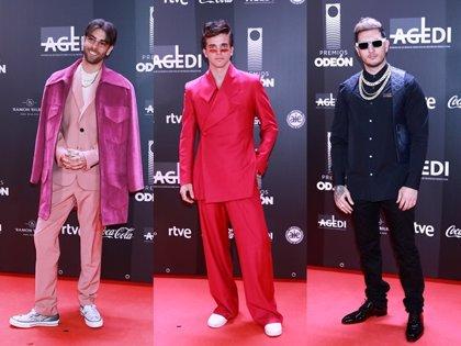 Los looks masculinos más atrevidos de los Premios Odeón