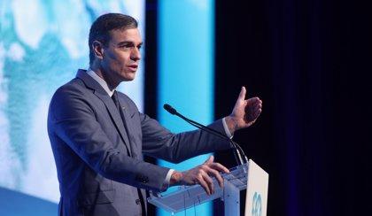 Sánchez lanzará este miércoles en el Foro de Davos un mensaje de confianza en la economía española