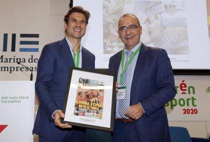 David Ferrer apadrina la entrega de premios al talento 'Emprén Esport' de 2020