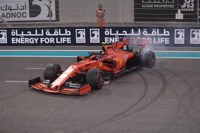 El piloto monegasco Charles Leclerc (Ferrari)
