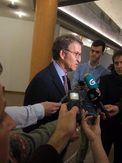 """Feijóo tacha de """"tomadura de pelo"""" la negativa del Gobierno a abonar el IVA y no descarta recurrir a los tribunales"""