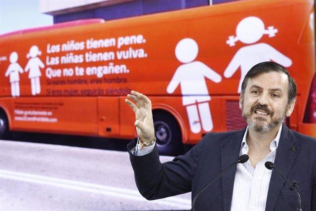 El presidente de Hazte Oír, Ignacio Arsuaga, en una imagen de archivo.