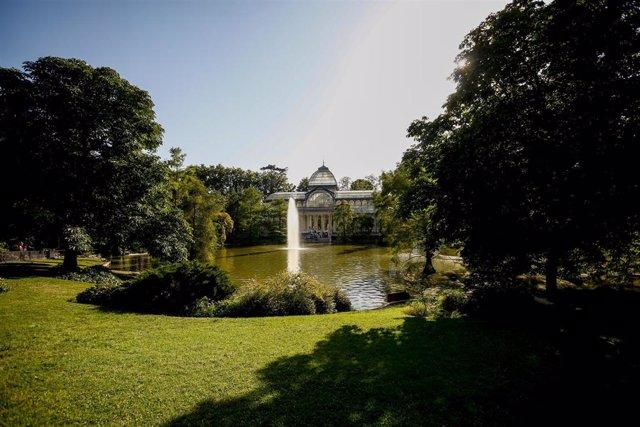 Imagen del recurso del Palacio de Cristal en el Parque del Retiro.