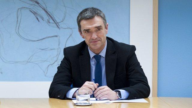 El secretario general de Derechos Humanos del Gobierno vasco,  Jonan Fernández