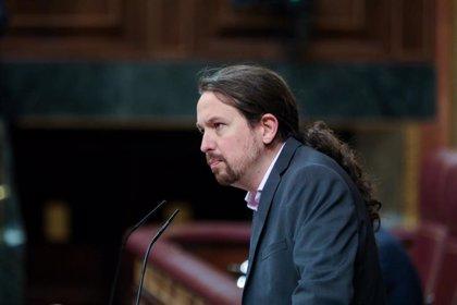 """Iglesias dice que el Gobierno defenderá la educación en valores frente a los """"herederos ideológicos"""" del 'Cara al Sol'"""