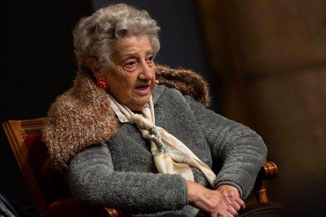 Annette Cabelli, superviviente del Holocausto