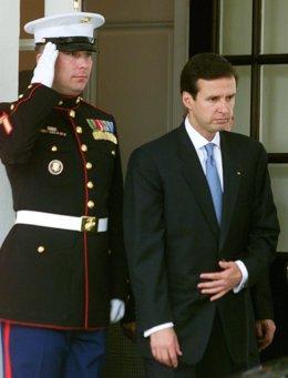 El expresidente de Bolivia Jorge Quiroga.