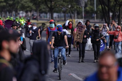 """El Gobierno considera """"lamentable"""" el balance de la jornada de protestas en Colombia"""