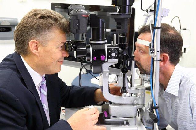 """El profesor Jamie Craig espera lograr la """"detección masiva"""" del glaucoma en un futuro"""