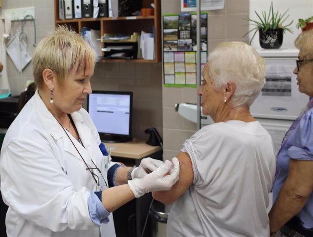 La vacuna de la gripe en personas mayores