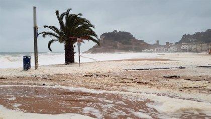 Las precipitaciones, muchas de ellas de nieve, dejaron el martes de 100 a 225 l/m2 en el tercio este