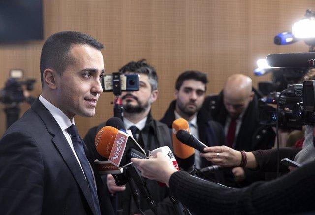 Italia.- Di Maio dejará el liderazgo del Movimiento 5 Estrellas en Italia