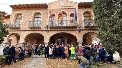 """Puebla de Almoradiel se concentra por su vecina asesinada: """"Un asesinato cruel"""""""