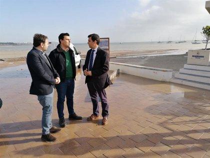 """Formento urge a rebajar el """"rebosante"""" acuífero del Campo de Cartagena para frenar inundaciones"""