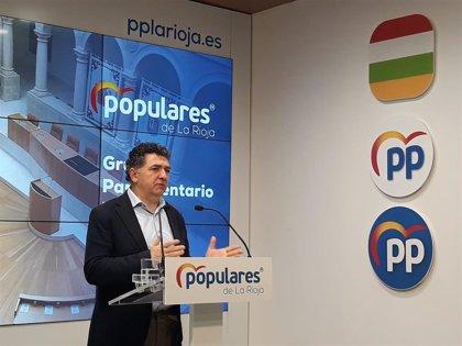 """Cuevas (PP) asegura que los presupuestos del Gobierno """"no son buenos para la economía"""" y hacen """"descender inversiones"""""""