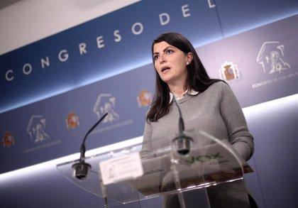 """Vox subraya que la reforma del delito de sedición es un pago a ERC y rechaza las """"excusas"""" de Calvo"""