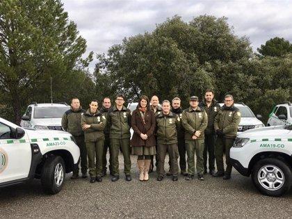 La Junta entrega ocho nuevos vehículos destinados a los agentes de Medio Ambiente en Córdoba