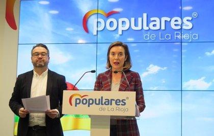 """Gamarra critica """"el ataque del Gobierno de Sánchez"""" a La Rioja """"al negarse a pagar 20 millones del IVA de 2017"""""""