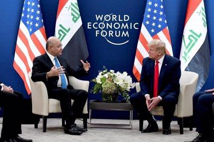 Trump habla con el presidente de Irak de la posible reducción de tropas