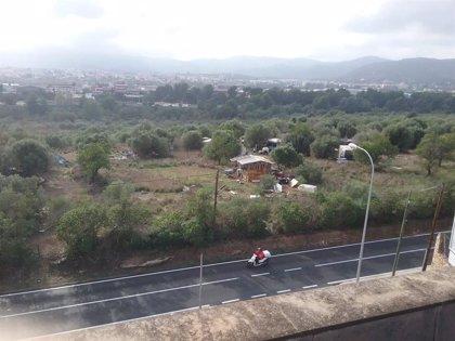 Cs Palma pide la intervención de Cort en un poblado chabolista en el Secar de la Real