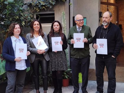 La Fundació Catalunya Cultura se suma a la petición de un 2% más de presupuesto cultural