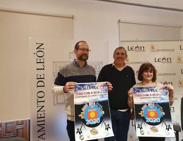 Presentación del campeonato de Tiro de Castilla y León.