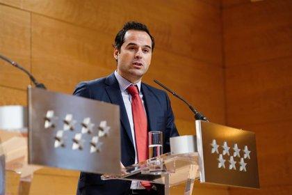 """Aguado se muestra de nuevo disconforme con el nuevo jefe de Gabinete aunque asegura que el Gobierno trabajará """"unido"""""""